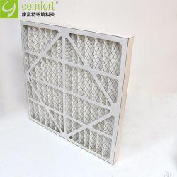 Panel de estructura de cartón pliegues Filtro de aire horno principal
