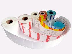 80*90*500p impression d'étiquette de papier personnalisés/PVC/PP auto-adhésif autocollant /les étiquettes des consommateurs