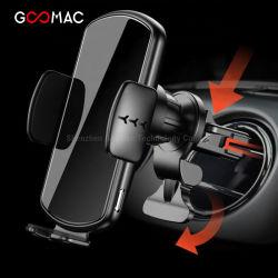 Verkaufsschlager-drahtlose Auto-Aufladeeinheits-Noten-automatische Induktions-Auto-Montierungs-Luft-Luftauslass-Telefon-Halterqi-Radioapparat-Aufladeeinheit
