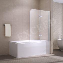 Top Vendita vetro temperato trasparente doppio rettangolo porta pieghevole doccia Contenitore (EX-213L)