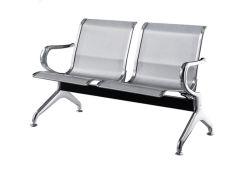 2인승 메탈 스틸 의자 공항 병원 은행 버스 정류장 사무용 가구 벤치에서 대기중 공공 좌석의 실외 의자