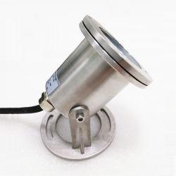 Resistente al agua IP68 LED Iluminación subacuáticos Piscina de acero inoxidable de cristal para acuarios alimentación