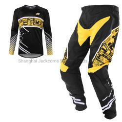 Op maat gemaakte Motocross Jerseys and Pants ATV Dirt Bike voor heren Jerseys and Pants MX Sets met ademend No Fade gesublimeerd Afbeeldingen
