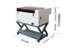 CO2 Tischplattenlaser-Stich und Ausschnitt-Maschine für Steinstich