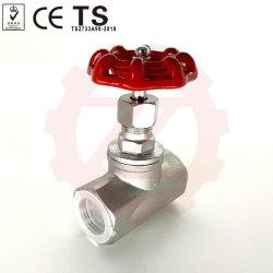 Быстрые поставки ASME B16.34 Американского 1/2 дюйма земного шара клапана