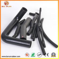 Reforçado trançado automático de alta pressão flexível do tubo de borracha do radiador de silicone do permutador