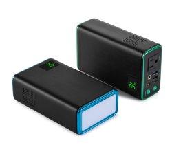L'uscita all'ingrosso 80W di CA del pacchetto di potenza della batteria del litio 32000mAh si dirige la Banca di potere con il controllo di qualità 3.0 delle porte del USB di 5V 2.4A velocemente che si carica