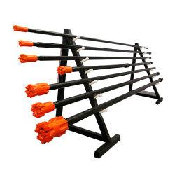 L3660mm円形T38 Mfの伝送速度増加機構のドリル棒をあけるベンチ