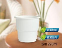 [220مل] نشا ذرة قابل للتفسّخ حيويّا [كمبوستبل] مستهلكة شراب فنجان لأنّ شراب حارّة وفنجان باردة