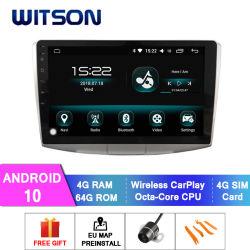 Witson Android 10 автомобильной аудиосистеме для VW Magotan 2012-2015/Passat B7 4 ГБ оперативной памяти 64Гб флэш-памяти большой экран в машине DVD плеер