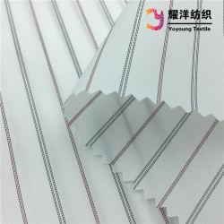 100% Polyester garen-geverfd Stripe patroon kostuum mouw voering stof voor Herenjack