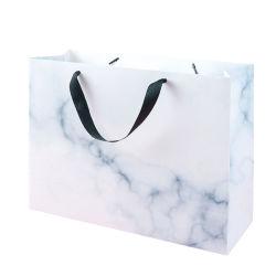 De Marmeren Zak van het Document van de kunst voor het Winkelen De Zakken van de Gift van Pakken