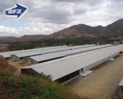 مصنع قبل مصنع مخزن الصلب / ورشة / Hangar هيكل الصلب السعر للبيع