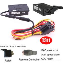IP67 방수 T311이 탑재된 오토바이 도난 방지 GPS 트래커