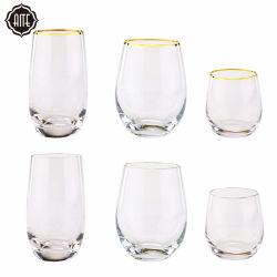 Uovo di vetro della tazza di caffè del tè della chiavetta di vino della fabbrica del whisky Stemless di vetro