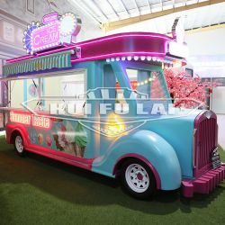 Nouveau design Fast Food Trailer Pizza Ice Cream Cart Mobile Chariots alimentaires collations chariot alimentaire à vendre
