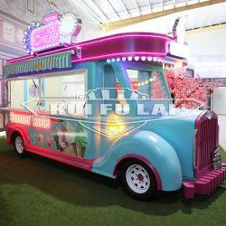 Novo Design Fast Food Pizza Reboque Sorvetes Cart Mobile Caminhões Alimentar Snacks Alimento Carrinho para venda