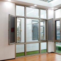 カスタマイズされたサイズのアルミニウム終了する滑るか、または開き窓または圧延シャッタードアおよびWindows粉のコーティングのまたは陽極酸化される