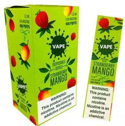 2020 Top Venda Nova electrónica de cigarros com fumaça colorida Hookah Vape Eletrônicos Mais Populares