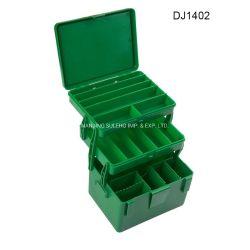 プラスチック携帯用釣用具の箱