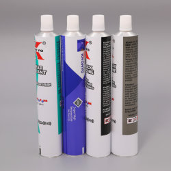 Paquete de tubos de pegamento adhesivo de silicona paquete de tubos de aluminio colapable Muebles Mantenimiento/ D28mm 50g con tapón de rosca de plástico