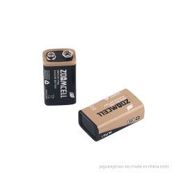 GM01010105- Commerce de gros prix d'usine haute6Lr61 pile sèche alcaline 9V Batterie assemblés pour multimètre et systèmes d'alarmant etc