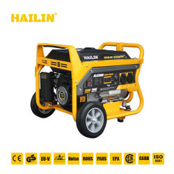 Ce/EU-V/EMC/EPA Certificateの1-8kw 50Hz/60Hz Small Silent Power Portable Electric Start Gasoline Generator