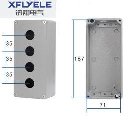 4P IP65 caja de empalmes de aluminio fundido
