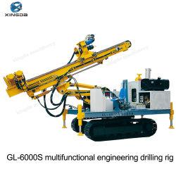 Impianto di perforazione di trivello di ingegneria idraulica della costruzione del traforo di Gl-6000s/perforatrice