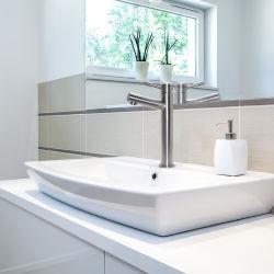 Salle de bain moderne de gros à poignée unique bassin évier de cuisine robinet