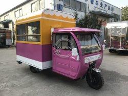 3.5M тук-туке три колеса электрический с передней дверью /топливного газа инвалидных колясках Mobile продовольственная корзина