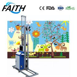 FFITCE DX10 inkt op waterbasis of UV inkt direct naar de muur Vinylplotter voor binnen- of buitengebruik