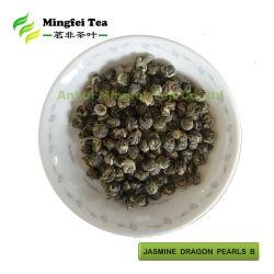 中国の緑茶のジャスミンのドラゴンはBを真珠で飾る