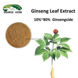 天然温泉葉エキス「ジンセンリーフ」 Ginsensoside UV ハーブハーブハーブを 10 ~ 80% 使用しています