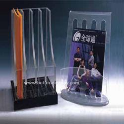 En acrylique transparent détenteur du dossier de fichiers (BTR-H6008)