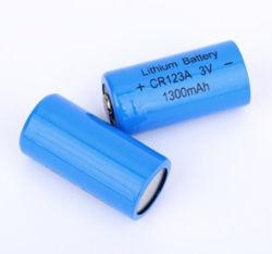 Cr123A 1500mAh rechargeable au lithium 3 V Alimentation de la batterie