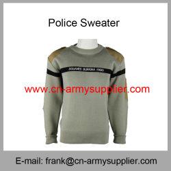 Bon marché de gros de la Chine de la laine de l'armée au Burkina Faso chandail de la police de l'armée