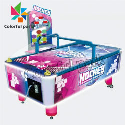 Parc coloré Mini jeu commercial Machine Coin Pusher Machine de jeu Air Hockey Table pour le Game Center