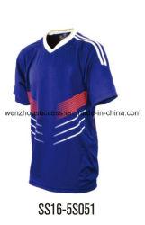 Camisola de futebol personalizados de alta qualidade e desgaste de desporto