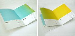 تصاميم تقويمات المكتب الملونة لعام 2013
