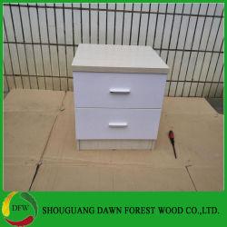Mobilier de maison en bois de la table de chevet pour la chambre