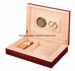 Из розового фортепиано отделка деревянных сигарный Humidor дисплей хранения упаковки Подарочная упаковка