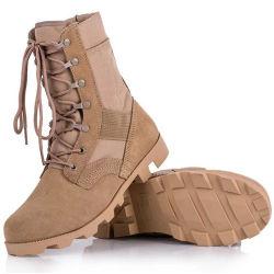 2021 Commerce de gros Custom antiglisse étanche extérieur CAMOUFLAGE DÉSERT Désert de la Police militaire des chaussures d'amorçage