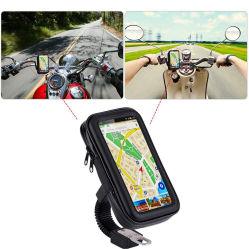 Гибкий держатель подушки безопасности является водонепроницаемым мотоциклов двигателя держатель для мобильного телефона