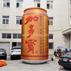 Bo075 Promotion et de Lubrifiant spray gonflable bouteille d'affichage et publicité gonflable bouteille de bière et de jus de fruits