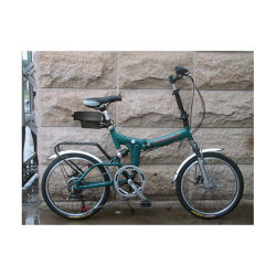 合金折るフレームFoldable Eバイクによって折られるEのスクーターの電気自転車の中国のバイク36V李電池