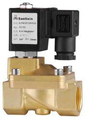 A água do ar de latão de 2 vias da válvula solenóide piloto -- Série Slpm pulso magnético (SLPM)