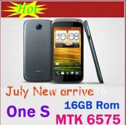 """4.7 """"アンドロイド4.0の3G電話二重カメラ512ROM 4Gの記憶Bluetoothが付いているmtk6575スマートな携帯電話"""