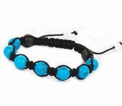 L'hématite magnétique bleu Bracelet avec perles de l'aimant