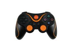 Dualshock BlackかソニーPS3のためのBlue Wireless Bluetooth Game Controller